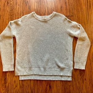 Madewell Gray Knit Sweater Size M